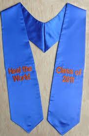 customized graduation stoles best 25 graduation stole ideas on college graduation