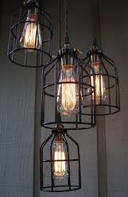 Hanging Industrial Lights by Best 25 Vintage Lighting Ideas On Pinterest Industrial Lighting