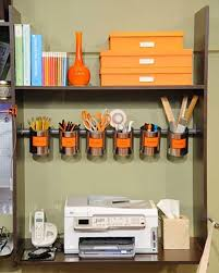 How To Organize Your Desk At Home For School Diy Ideas And Hacks To Organize Your Office