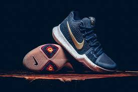 nike kyrie 3 obsidian metallic gold colorway hypebeast