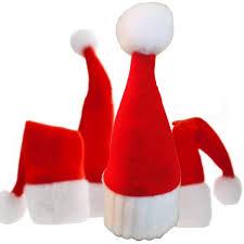 10pcs christmas wine bottle hat christmas dinner table decoration
