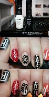 nail designs letters