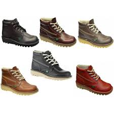 womens kicker boots uk kickers kick hi m mens boots all sizes in various colours ebay