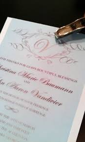 How To Print Wedding Programs How To Print A Monogram On Your Wedding Invitations In Microsoft