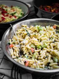 bbq part 2 creamy pasta salad u2014 discover delicious
