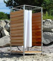 Outdoor Shower Curtains 18 Best My Outdoor Shower Images On Pinterest Outdoor Showers