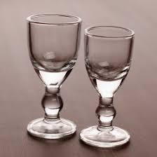 small white wine glass shot glass cup goblet all imprint