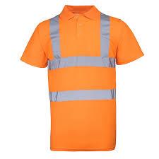 amazon com rty high visibility mens high vis polo shirt work