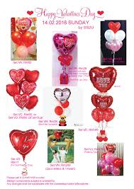 valentines day balloon delivery something special to you malaysia wedding one stop shop
