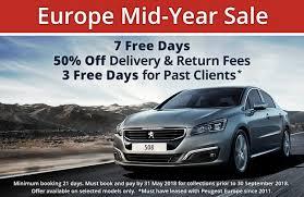peugeot car hire europe peugeot europe car leasing peugeot europe