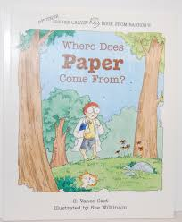 where does paper come from clever clavin book c vance cast
