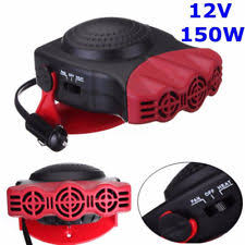 automotive heater defroster fan 12v 2in1 car truck auto heater cool fan windscreen window