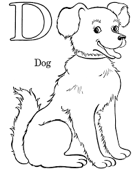 kids abc coloring pages letter d free printable farm alphabet