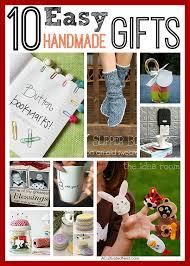 10 easy handmade gifts diy gift ideas