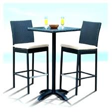outdoor bar height table and chairs set bar height outdoor table set stevensimon org