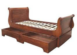 Reproduction Bedroom Furniture by Sleigh Bed Pullout Storage Drawers Bed Reproduction Sleigh Beds