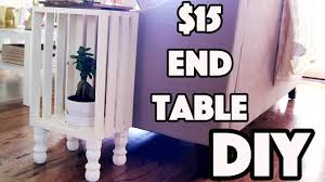 diy 15 shabby chic end table youtube