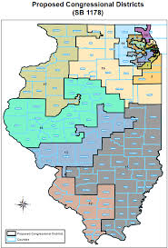 Counties In Illinois Map by 712 813 U2013 Size Of New Illinois Congressional Districts U2013 Where The