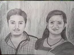 handmade sketch sketch artist pencil drawing portrait sketch
