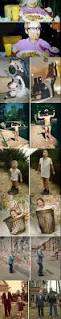 before and after creative recreations of childhood photos the