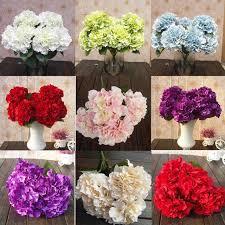 Wedding Garden Decor Aliexpress Com Buy Wedding Decor 5 Heads Artificial Flower Bunch