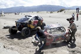 peugeot dakar 2016 dakar 2016 team mini knocks off peugeot to take stage 8