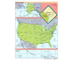 Map Of America by Political Map Of United States Of America Ezilon Maps Usa