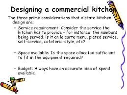 Commercial Kitchen Designers Designing A Commercial Kitchen