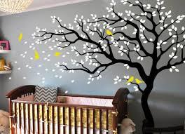 baum wandtattoo im kinderzimmer 24 kreative anregungen - Kinderzimmer Baum