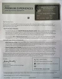 American Express Business Card Benefits Flying From The Front Amex Business Platinum Card 150k Sign Up