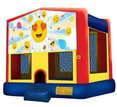 house emoji emoji moonwalk emoji bounce house emoji party