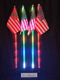 Led Whip Flags American Dream Wrapped Led Whips Pairs 316 Modes 2 U0027 3 U0027 Or 4