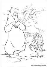 Brave Coloring Pages On Coloring Book Info Disney Brave Coloring Pages