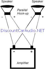 speaker wiring diagram parallel series circuit and schematics
