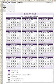 academic calendar template cris lyfeline co