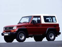 toyota cruiser land cruiser ii lj73 1990 u201396 wallpapers