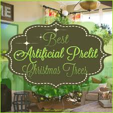 best artificial prelit trees comfy