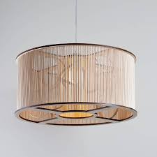 accessories pendant lamp design idea with nice large drum shade