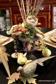 pheasant fall tablescape refresh restyle