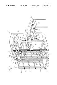 patent us5329952 apparatus for washing dishes google patents