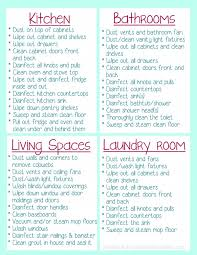 printable house cleaning schedule clean your house before you move in free printable ask anna