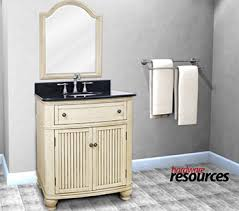 Cream Bathroom Vanity by Bargain Outlet