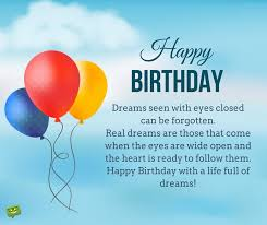 Happy Birthday Wishes To Images Inspirational Birthday Wishes Messages To Motivate And Celebrate
