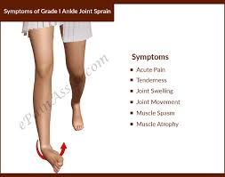 High Ankle Sprain Anatomy Ankle Joint Sprain Causes Types Symptoms Treatment Conservative