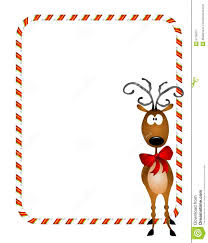 reindeer xmas border royalty free stock photography image 6776097
