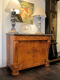 stunning 19th cent charles x french buffet in burr other furniture