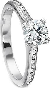 precision set rings precision set flush fit channel set diamond engagement ring 7234