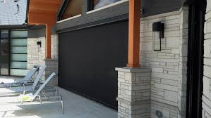 motorized retractable screens for patios porches large openings