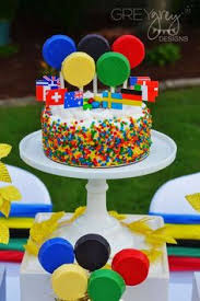 Olympic Themed Decorations Go For The Gold With An Olympics Themed Kids Party Olympics