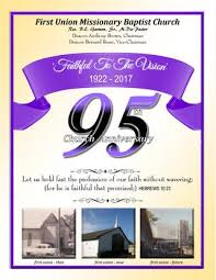 centennial celebration souvenir booklet new mickle baptist church ad booklet 100th anniversary by yss